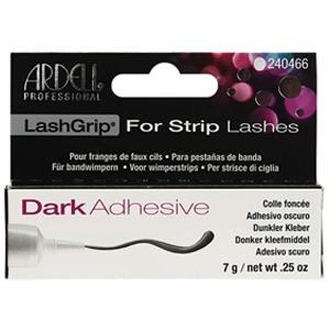 adhesivo oscuro pestañas