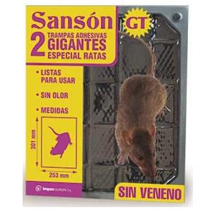trampas para pegar ratas gigantes